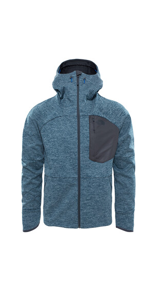 The North Face Thermoball Windwall Jas Heren blauw/petrol